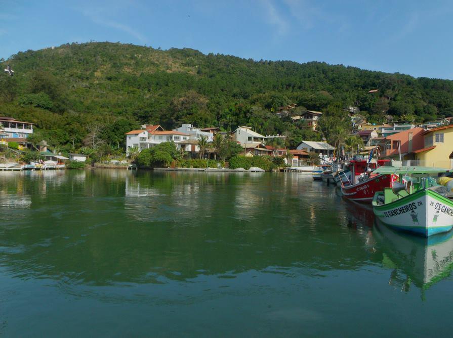 Canal da Barra da Lagoa Florianopolis