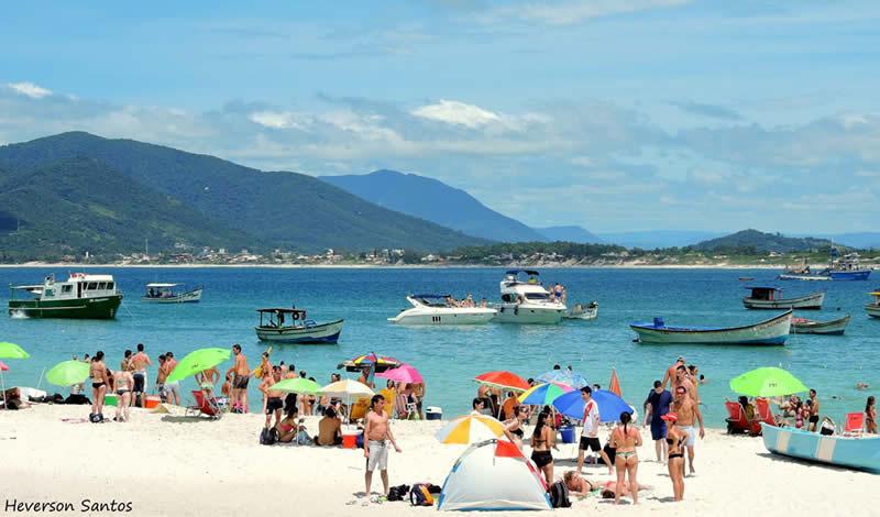 Praias de Florianópolis – Foto Ilha do Campeche