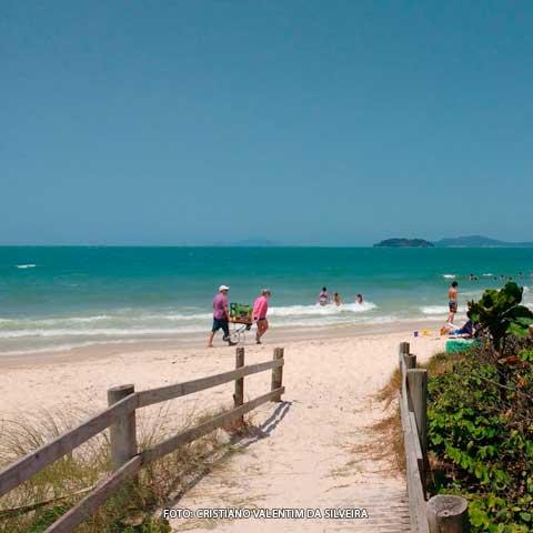 Praia Jurere Mapa Melhores Praias Santa Catarina