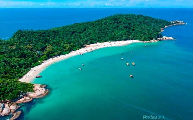 Ilha do Campeche Florianópolis Mapa Melhores Praias Florianópolis