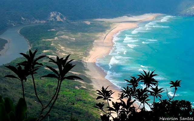 Lagoinha do Leste Florianópolis Mapa Melhores Praias Florianópolis
