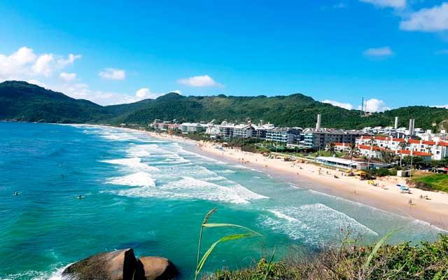 Praia Brava Florianópolis Mapa Melhores Praias Florianópolis