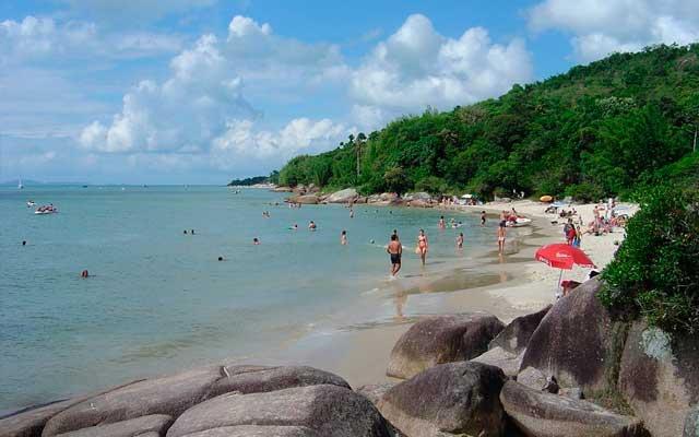 Praia Daniela Florianópolis Mapa Melhores Praias Florianópolis
