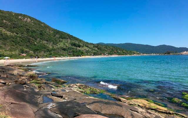 Praia do Matadeiro Florianópolis Mapa Melhores Praias Florianópolis