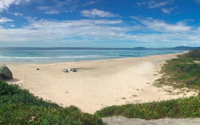 Praia de Moçambique Florianópolis Mapa Melhores Praias Florianópolis