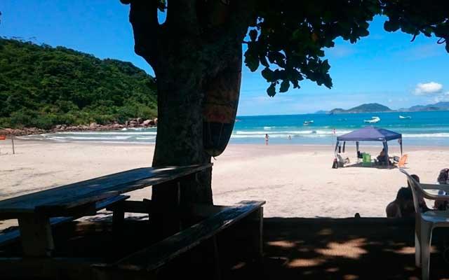 Praia de Naufragados Florianópolis Mapa Melhores Praias Florianópolis