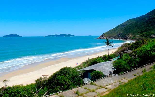 Praia da Solidão Florianópolis Mapa Melhores Praias Florianópolis