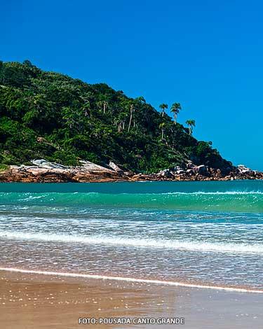 Praia Quatro Ilhas Bombinhas