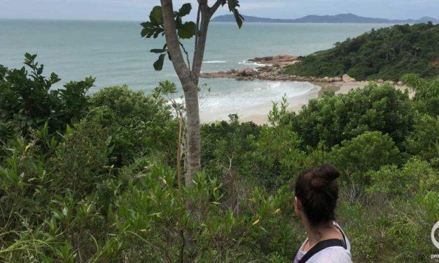 Guia da trilha para a Praia dos Ilhéus em Governador Celso Ramos